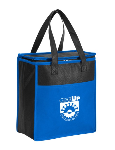 Koolie Carry-All Cooler – 2013 discount pricing with one color imprint $2.99 / 150 unit minimum. Can be run with any TRiO or program artwork. Stock colors: Blue, Lime Green, Orange, Red, Silver.