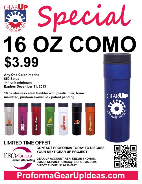 16 oz stainless steel tumbler with plastic liner, foam insulated, push-on swivel lid - patent pending.