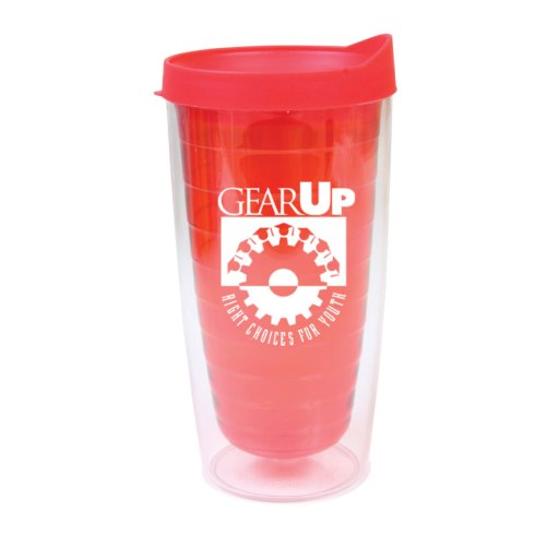 Insulated travel tumbler made of BPA free, 16 oz. (470 mL), double wall shatter and impact resistant AS plastic. Features Saturn-like ring accent lines embedded in plastic walls. Includes snap on sip through locking lid. Designed for use with either hot or cold beverages. Not designed to withstand freezing temperatures (do not place in freezer). Tumbler is top rack dishwasher safe. - See more at: http://jetlinepromo.com/16-oz-double-wall-saturn-tumbler.html#sthash.2WWIuKa1.dpuf