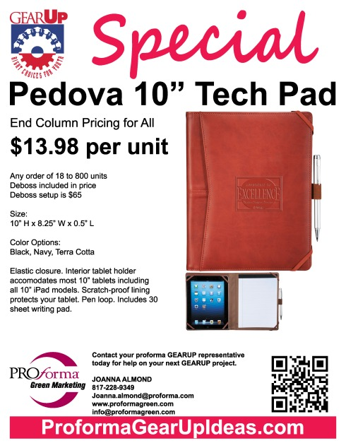 Our best selling Tech padfolio.