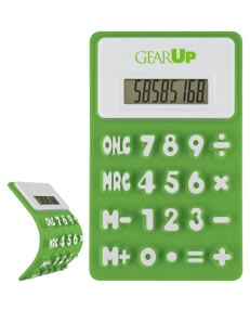 GEARUP sample Flexible 'Press-Me' Colorful Calculator.