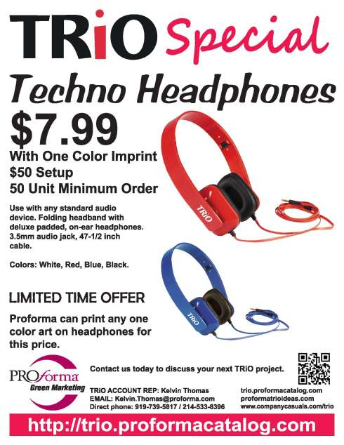Flyer for TRIO, GEARUP pricing is the same.