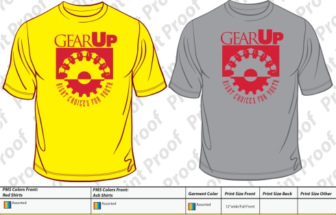 GEARUP Stock Tees